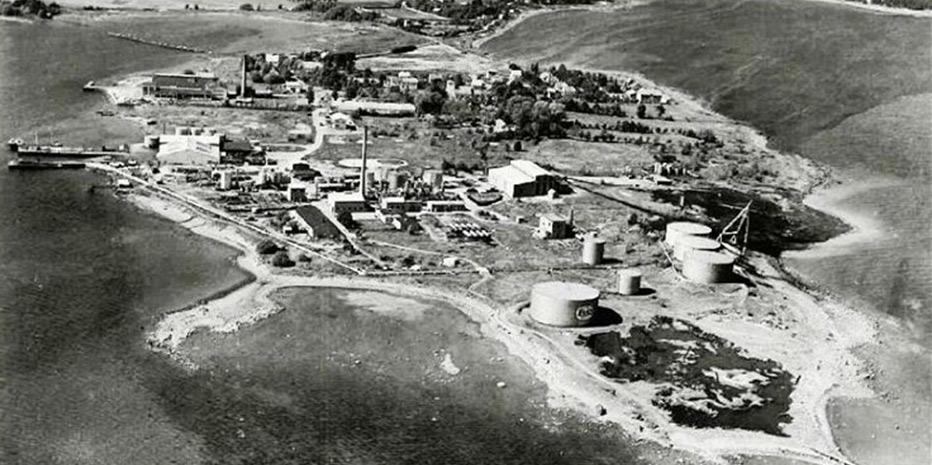 Vallø på 1950-tallet